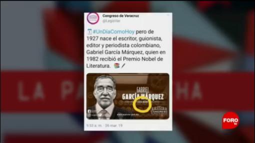 Foto: Cien Años De Soledad Veracruz García Márquez 7 de Marzo 2019
