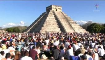 Foto: Reciben Primavera Zonas Arqueológicas Equinoccio 21 de Marzo 2019