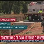 Foto: De acuerdo con datos de Pemex en enero de 2019 se detectaron mil 656 tomas clandestinas en sus ductos; 71 por ciento estaban en Hidalgo