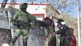 FOTO Ciudad Juárez refuerza seguridad con patrullajes militares (Noticieros Televisa chihuahua marzo 2019)
