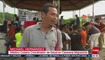 FOTO: Comité de salud viaja con caravana migrante en Chiapas, 24 Marzo 2019