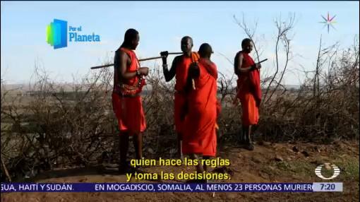 ¿Cómo es la vida de los habitantes del Masái Mara, en Kenia?