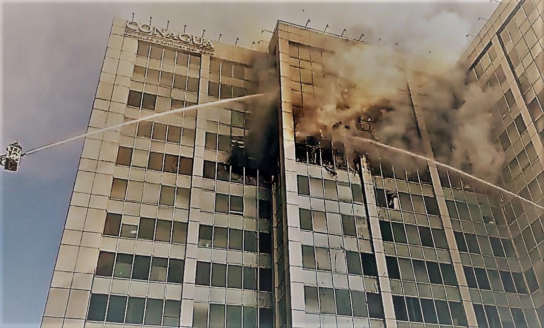 Conagua busca reubicación de 2,300 trabajadores tras incendio