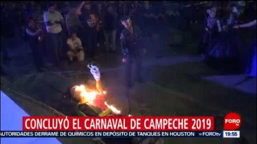 FOTO: Concluyó el Carnaval de Campeche 2019, 24 Marzo 2019