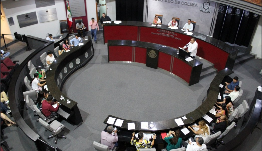 Foto: Congreso de Colima, 5 de marzo de 2019. Twitter @congresocolima