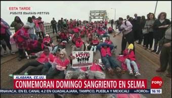 FOTO: Conmemoran 'domingo sangriento' en Selma, 3 marzo 2019