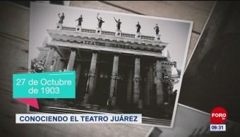 Conociendo el teatro Juárez
