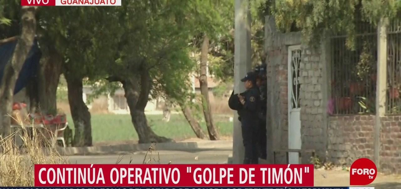 Foto: Continúa operativo 'Golpe de Timón' en Guanajuato