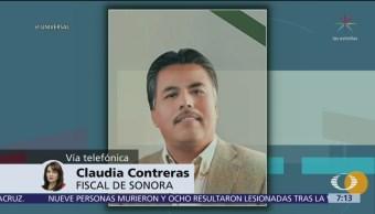 FOTO: Continúan las investigaciones del asesinato del periodista en Sonora, 18 marzo 2019