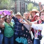 Foto Olga Sánchez Cordero encabeza marcha de mujeres en CDMX 8 marzo 2019