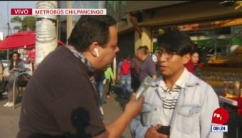 #CotorreandoconlaBanda: Recorriendo Metrobús Chilpancingo