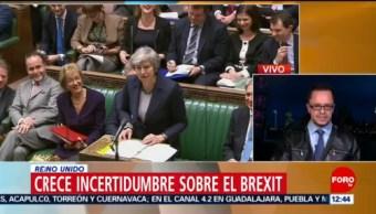 Crece incertidumbre sobre el Brexit