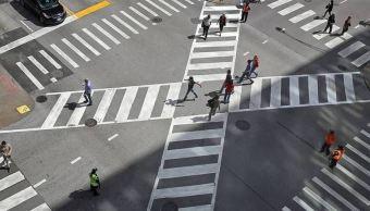 capitalinos desconocen como funciona nuevo cruce diagonal en centro historico