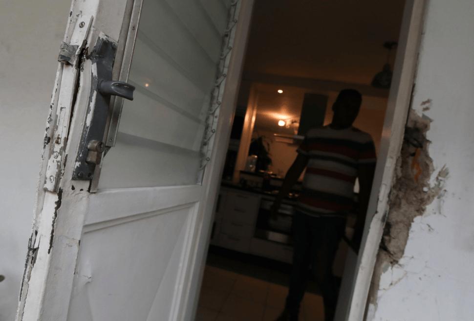 Foto: Daños en la vivienda de Roberto Marrero, 21 de marzo de 2019, Caracas, Venezuela