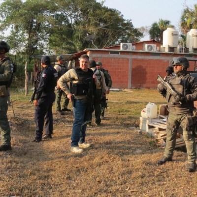 Aseguran campamento del CJNG en Tierra Blanca, Veracruz