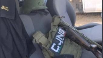 Foto: aseguran campamento del CJNG en Veracruz, 13 de marzo 2019. Twitter @SP_Veracruz