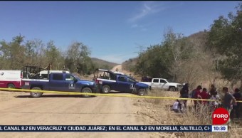 FOTO:Descubren nuevas fosas clandestinas en Ahome y Mazatlán, Sinaloa, 9 marzo 2019
