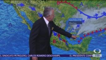 Despierta con Tiempo: Prevén tormentas en el sureste de México