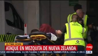 Foto: Detienen Tirador Mezquita Nueva Zelanda 14 de Marzo 2019