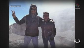Foto: Imágenes Alpinistas Llegaron Cráter Popocatépetl 19 de Marzo 2019
