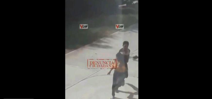 Foto Nuevo video de mujer que apuñaló a pareja en motel de Iguala 12 MARZO 2019