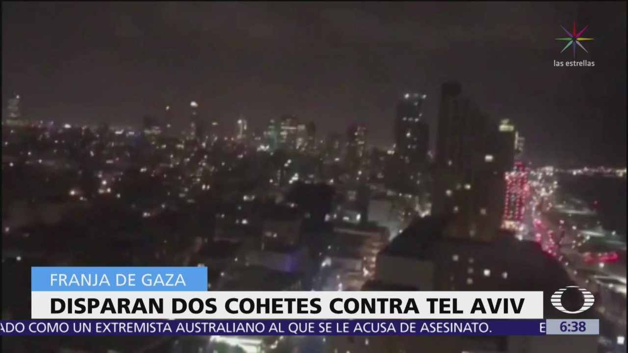 Disparan dos cohetes contra Tel Aviv