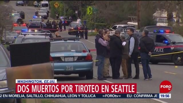 Foto: Muertos Heridos Tiroteo Seattle Whasington EU 27 de Marzo 2019