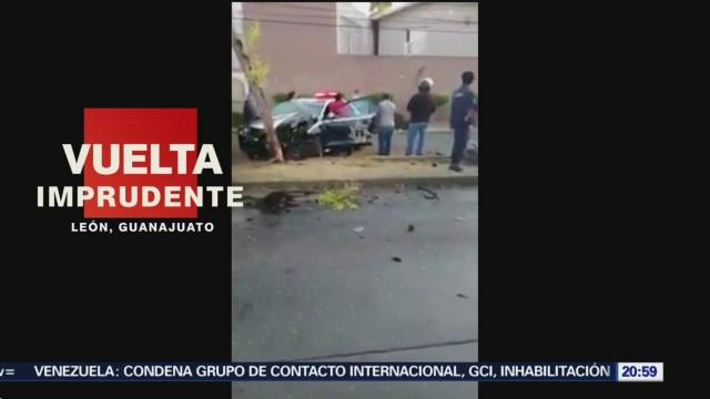 Foto: Policías Muertos Chocar Camioneta León Choque 28 de Marzo 2019