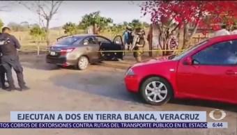 Ejecutan a expolicía municipal en Tierra Blanca, Veracruz