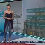 Foto: El Clima 'A las Tres' con Daniela Álvarez del 7 de marzo de 2019