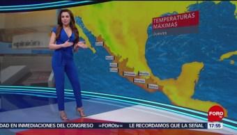 El clima, con Mayte Carranco del 21 de marzo de 2019
