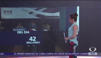 El número del día: 42 millones