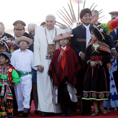 Vaticano: El papa ya pidió perdón por la conquista de América