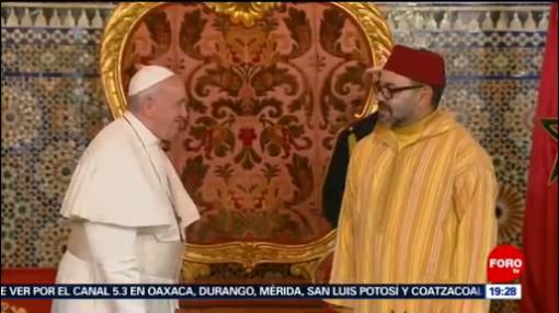 FOTO: El papa Francisco se reúne con el rey de Marruecos, 31 Marzo 2019