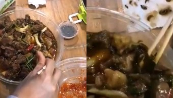Encuentran Cucarachas Restaurante Comida China, Encuentran Cucarachas, Encuentran, Cucarachas, Comida China, Video