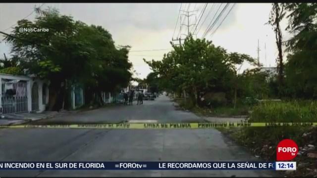 Encuentran cuerpo encobijado en región 230 de Cancún