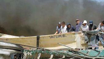 Sigue grave el pescador herido durante enfrentamiento con marinos en BC