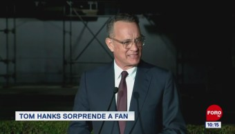 #EspectáculosenExpreso: Tom Hanks sorprende a fan