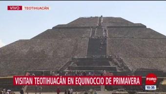 Esperan a la primavera en Teotihuacán