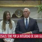 Esposa de Guaidó se reúne con Trump