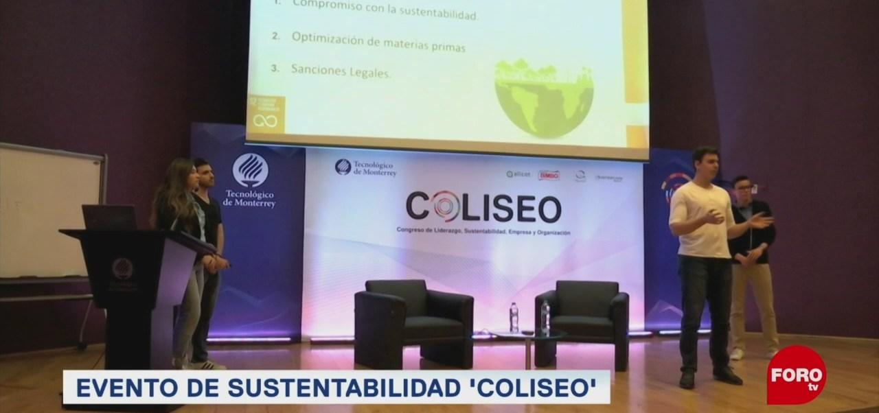 FOTO: Estudiantes mexicanos proponen soluciones para retos ambientales, 17 marzo 2019