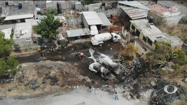 Foto: Explosión Pipas Gas Milpa Alta 21 de Marzo 2019