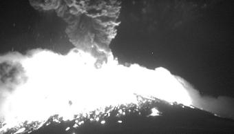 FOTO Tras explosión del volcán Popocatépetl, se mantiene alerta amarillo fase 2 Cenapred 18 marzo 2019
