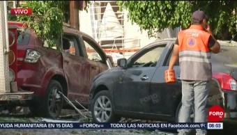 FOTO: Explota clínica particular en colonia Michoacana; hay varios lesionados, 30 Marzo 2019