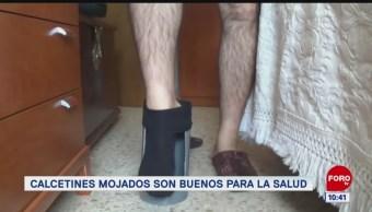 Extra, Extra: Calcetines mojados son buenos para la salud