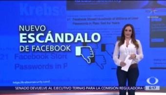 Facebook almacena contraseñas de usuarios por error