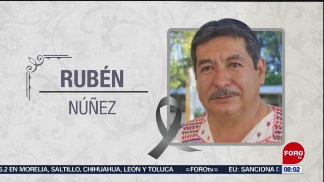 FOTO:Fallece Rubén Núñez, exlíder de la Sección 22 de la CNTE, 24 Marzo 2019