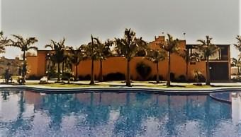 Lujos del huachicol: Así es la finca con bungalows, alberca y pista de baile de 'El Marro' en Santa Rosa de Lima