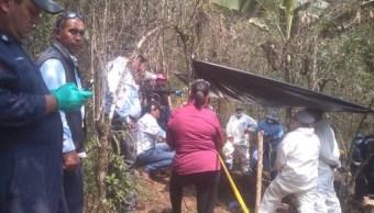 Foto: La Fiscalía General de Veracruz informó que fueron localizados al menos 15 cuerpos en fosas clandestinas en el municipio de Río Blanco, en la región centro, 27 marzo 2019
