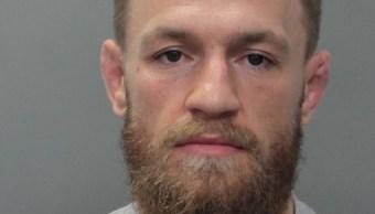 Foto: El luchador de UFC Conor McGregor aparece en una fotografía de la Policía en la cárcel del condado de Miami-Dade en Miami, Florida, EEUU, el 11 de marzo del 2019